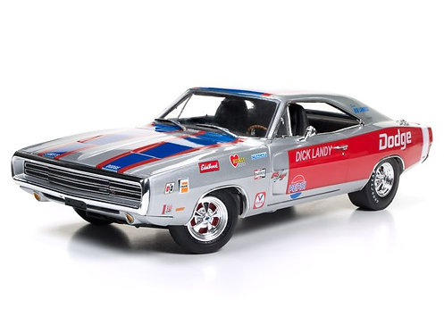 "1/18 AUTOWORLD ""Dandy"" Dick Landy HEMI 1970 Dodge Charger RT Super Stocker"