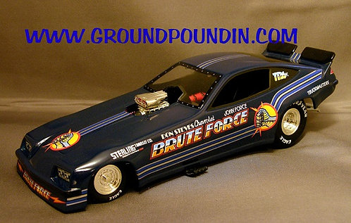 1977 John Force BRUTE FORCE NHRA Chevrolet Monza Funny Car 1/24