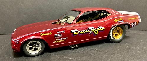 From 1320 Dunn & Reath NHRA Plymouth Barracuda Funny Car 1/24