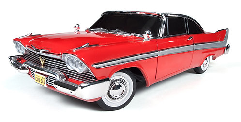 NEW! 1/18 Auto World 1958 Plymouth Fury Christine NIGHT VERSION W-Working Lights