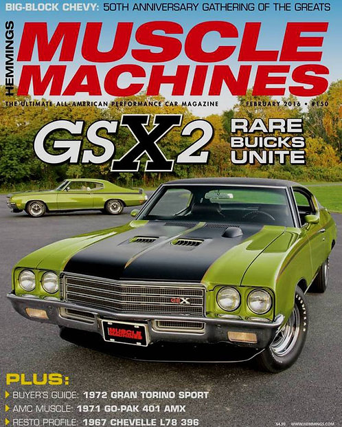 NEW & ALREADY SOLD OUT Autoworld 1971 Buick GSX Limemist Green Hemming Cover Car