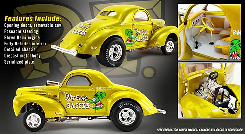 A NEW ACME PREORDER and it's a BEAUTY!! 1940 RAT FINK Willys Gasser 1/18