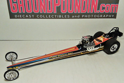 1320 Perkins & Hightower Cow Palace Shell Front Motored NHRA Top Fuel Dragster