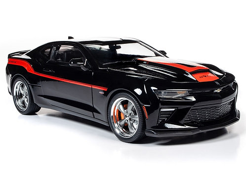 NEW! Very Limited Run!! AutoWorld 2018 (Yenko) Chevrolet Camaro Coupe AW257 1/18