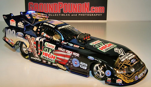 COLORCHROME 2011 John Force HONORING OUR HEROES NHRA Ford Mustang Funny Car