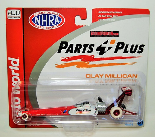 CHASE VERSION 2019 Clay Millican PARTS PLUS NHRA Top Fuel Dragster