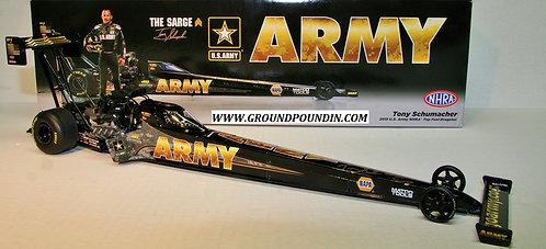 "2015 Tony Schumacher ""U.S. ARMY"" NHRA Top Fuel Dragster 1/24 AutoWorld"
