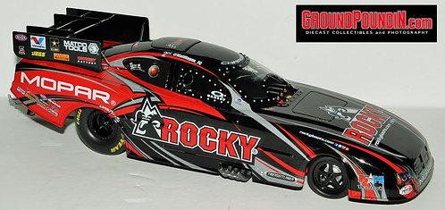 UN-NUMBERED 2014 Matt Hagan ROCKY BOOTS NHRA Dodge Charger RT Funny Car