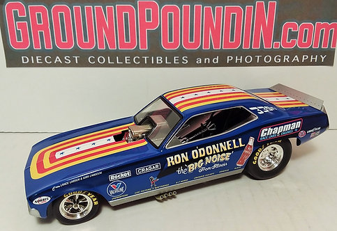 """1320 Inc. Ron O'Donnell """"Big Noise from Illinois"""" Plymouth Barracuda Funny Car"""