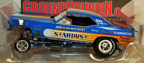 Legends 1/18 Don Schumacher STARDUST 1972 Plymouth Barracuda Funny Car AW1179