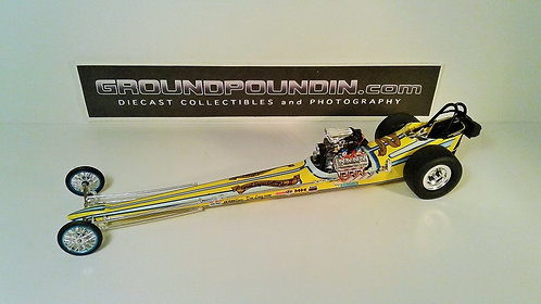 "From 1320 Jim & Allison Lee's ""GREAT EXPECTATIONS II"" Front Motored Dragster"