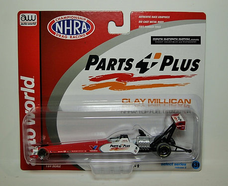 NEW! 2019 Clay Millican PARTS PLUS NHRA Top Fuel Dragster