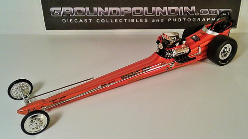"From 1320 ""T.V. Tommy"" Tommy Ivo NHRA Front Motored Dragster 1/24"