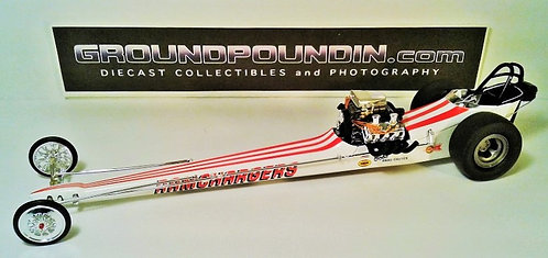 From 1320 Inc. RAMCHARGERS Front Motored NHRA Top Fuel Dragster