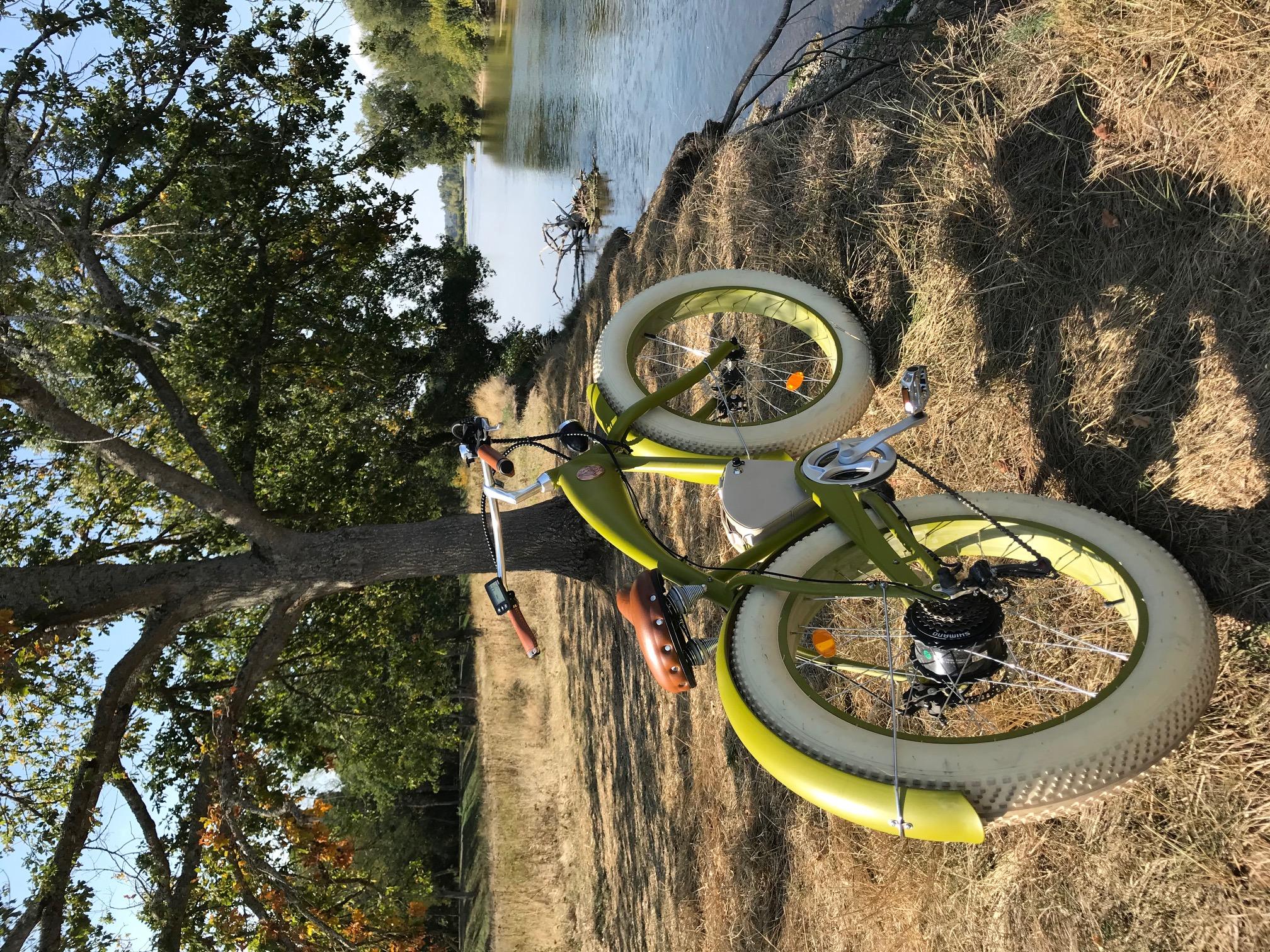 Vélo électrique en location à Mantelot