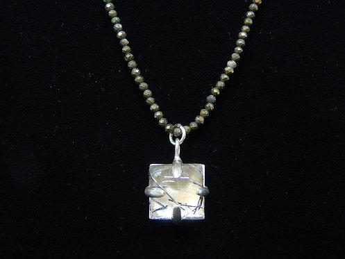 Single Tourmalated Necklace