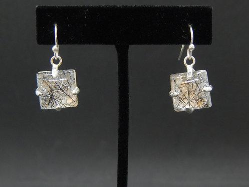 Tourmalated Quartz Earrings