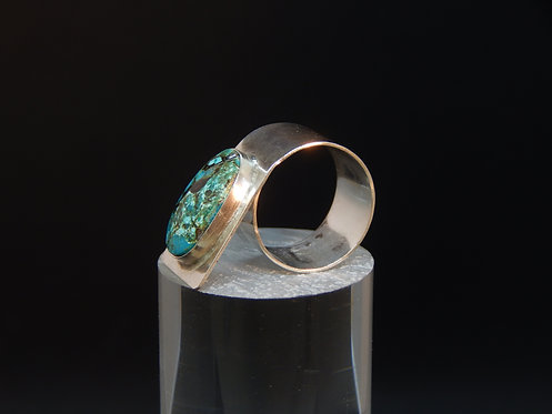 Wrap Around Sterling Turquoise Ring