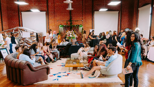 """Possibilities Room during the """"Love Yourself Summit"""" in 2018"""