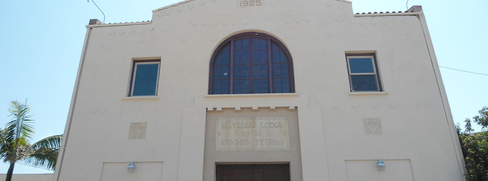 Exterior of ENTITY's First Headquarters
