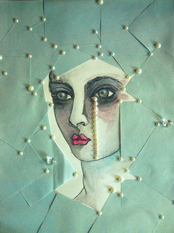 Jeune fille aux perles