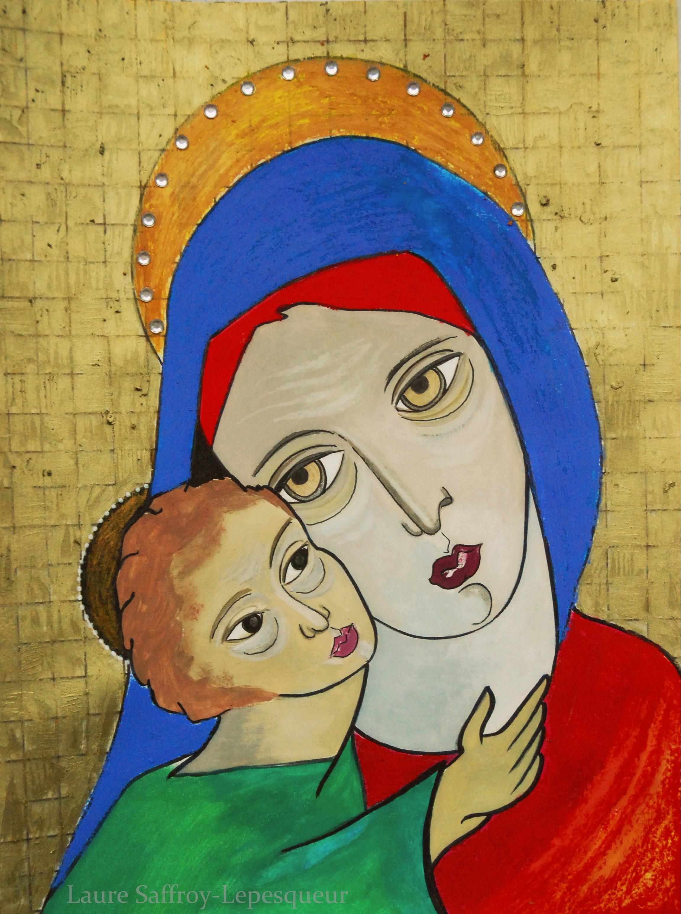 Mère à l'Enfant