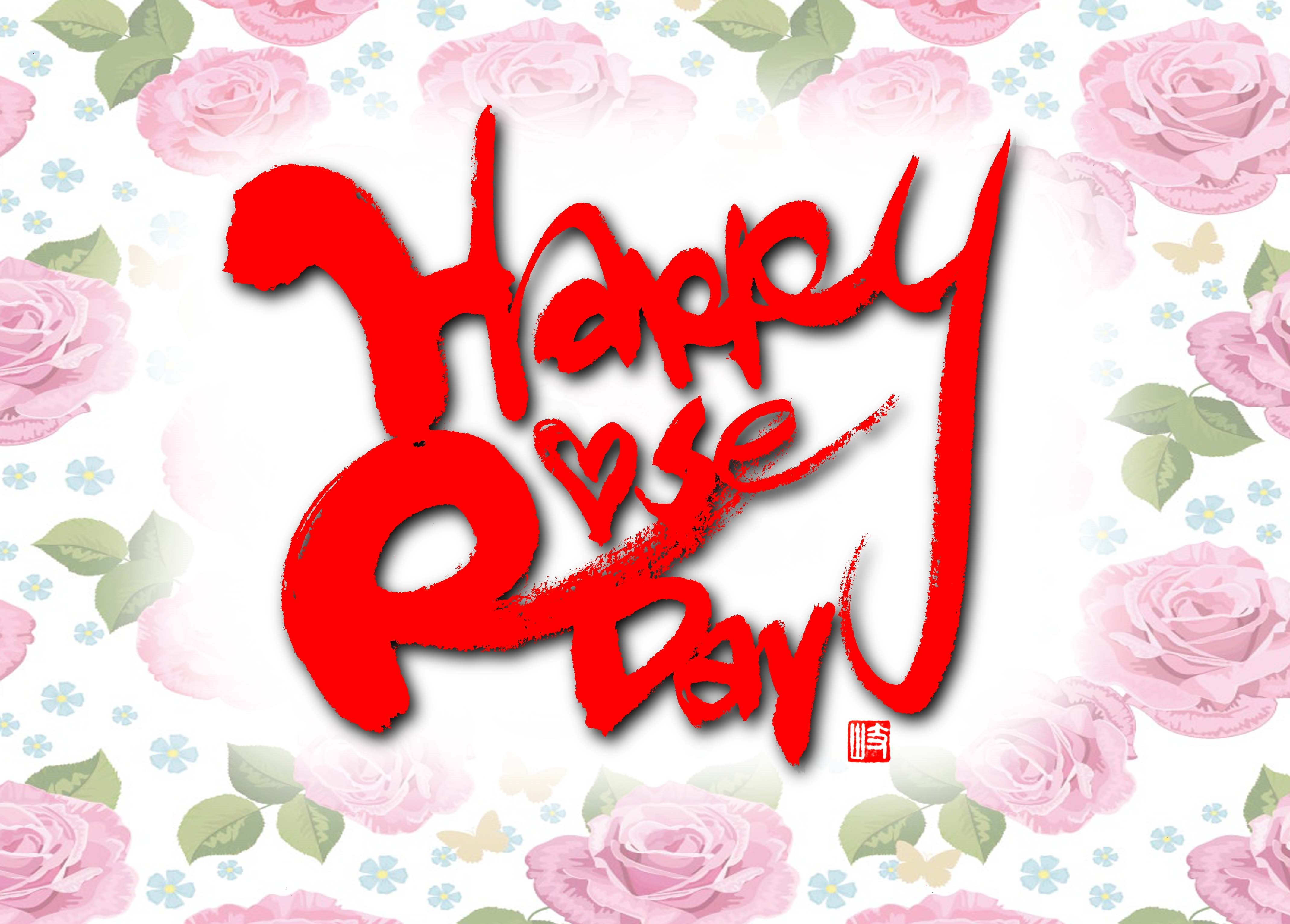 HappyRoseDay ローズの日 ロゴ2014.4赤塚このみ様