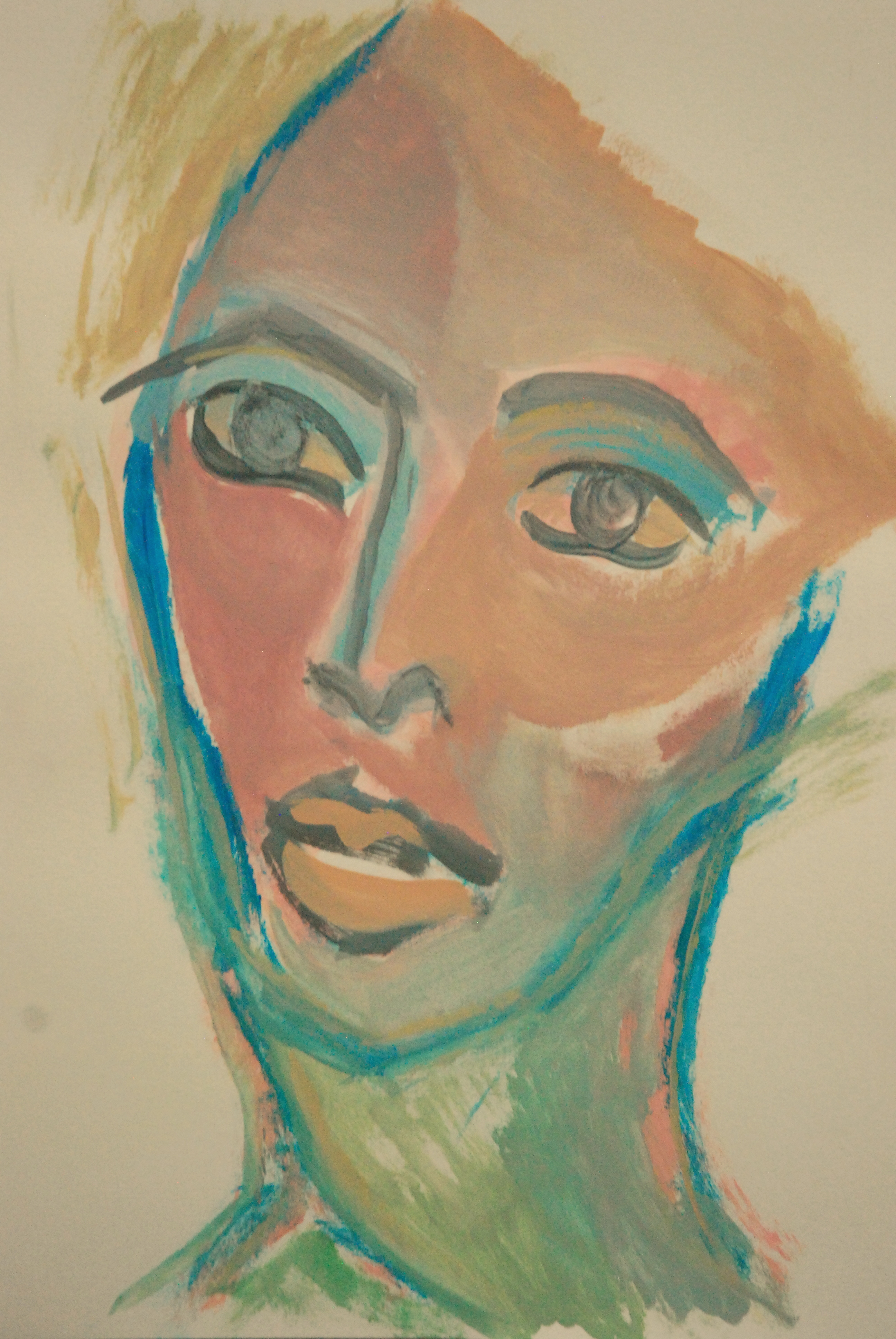 Portrait androgyne