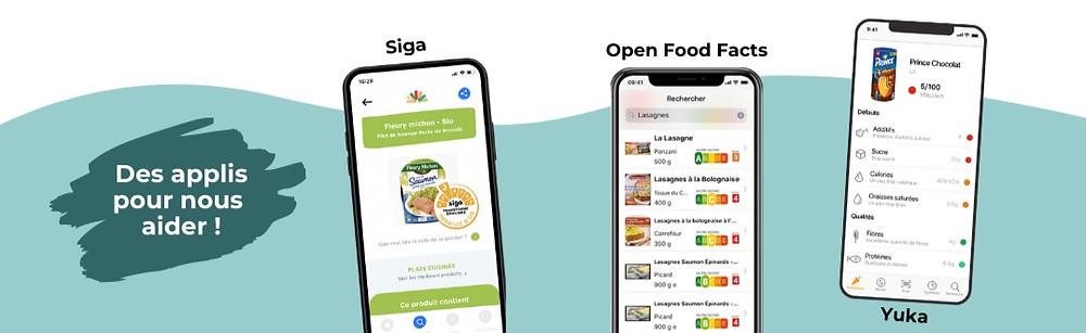 Les applications food pour mieux manger