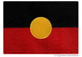 Aboriginal flag patch
