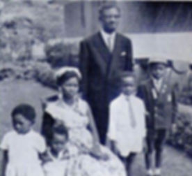 Patrice Lumumba with Pauline Opango and