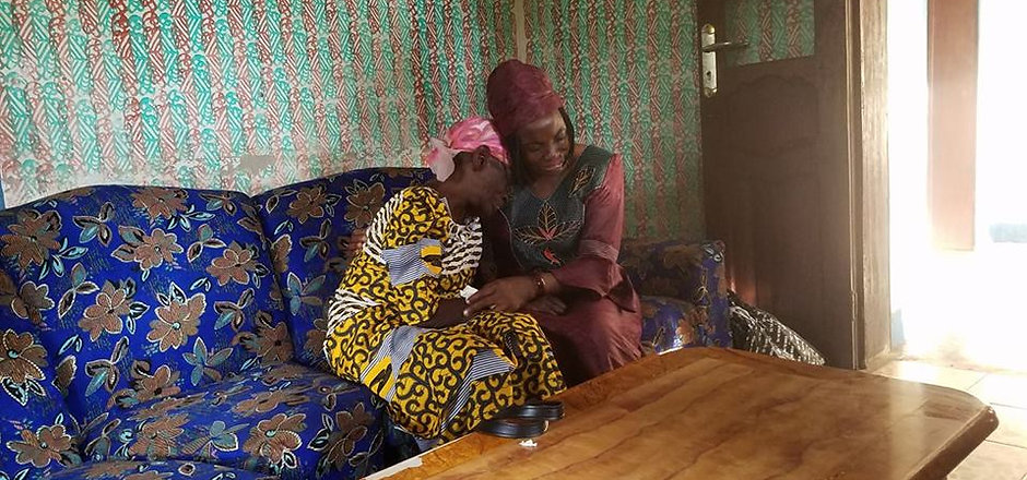 celestine and aunt meet after forty year