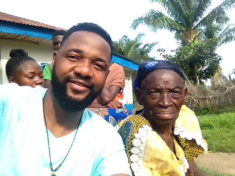 Tshoper with his great aunt.jpg