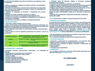 convocatoria profesores de asignatura cuatrimestres septiembre-diciembre