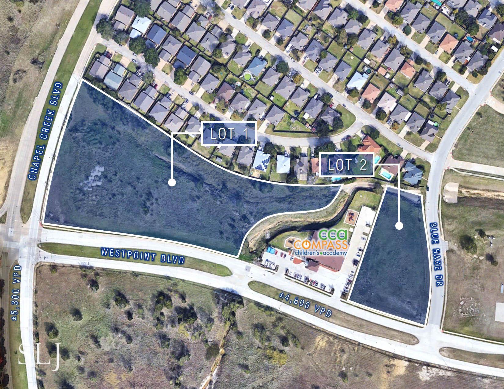 Chapel Creek Blvd & Westpoint Blvd