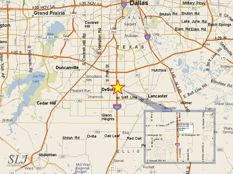2402-2420 N I-35E, Lancaster, TX