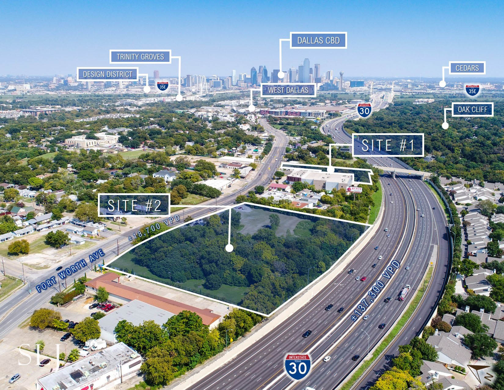 Fort Worth Ave Development Sites