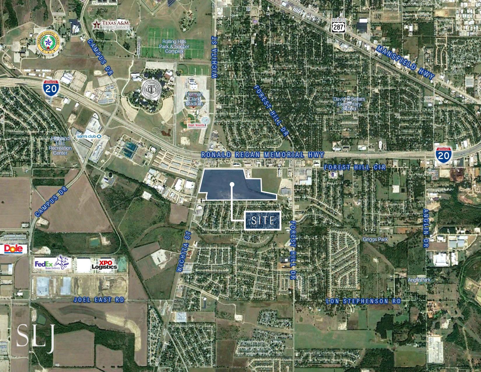 Forest Hill Circle & Wichita St