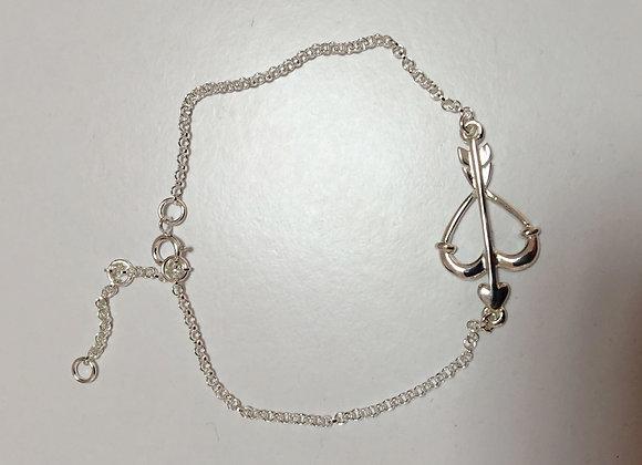 Bracelet Arc et Flèche Argent