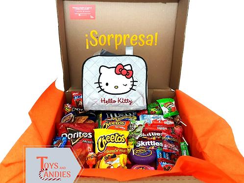Arreglo de Dulces Candy ToyBox Bolsa Hello Kitty