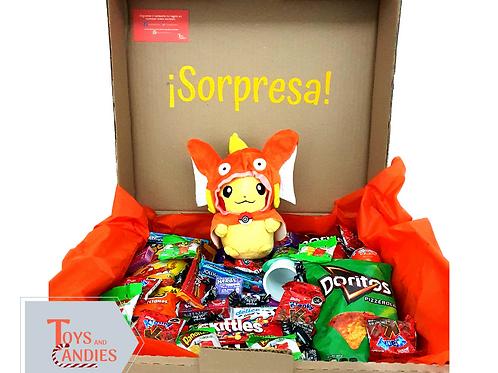 Arreglo de Dulces Candy ToyBox Pikachu Magikarp