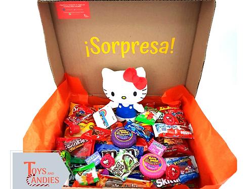 Arreglo de Dulces Candy ToyBox Hello Kitty
