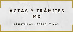 Logo Actas y Trámites MX