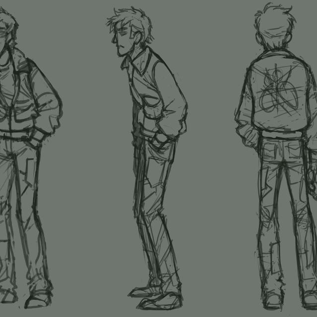 Keith Mizen Concept Sketch