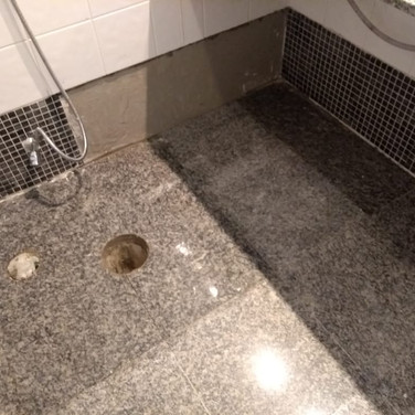 Banheiro (pastilhas)