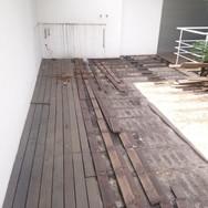 Demolição de Deck Sacada