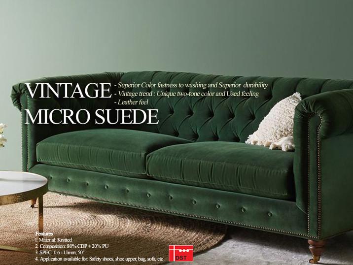 VINTAGE MICRO SUEDE / Daejin S&T's VINTAGE CONCEPT IMAGE