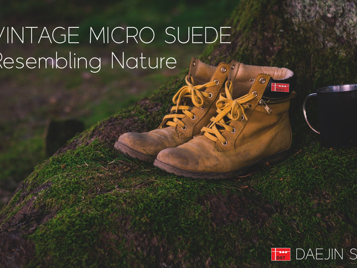 VINTAGE MICRO SUEDE / Daejin S&T's CONCEPT IMAGE