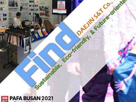 2021PAFA BUSAN, DAEJIN S&T Products