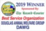 Best Service Organization 2019